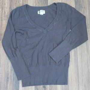 !SO! Brown cute sweatshirt